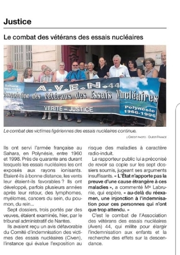 Ouest-France - 29.06.18